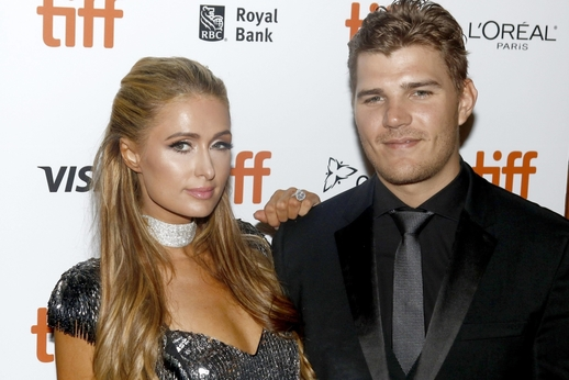 Paris Hilton a Chris Zylka