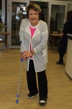 Bohdalová přišla na akci zranění navzdory.