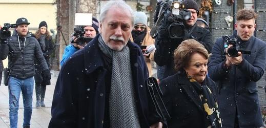 Zdeněk Zelenka a Jiřina Bohdalová.