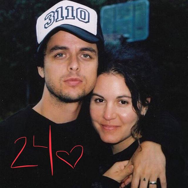 Billie Joe Armstrong a Adrienne Armstrong.
