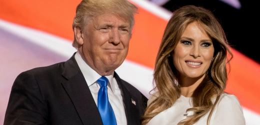 Melania a Donald Trumpovi.