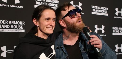 Martina Sáblíková a Jan Žampa.