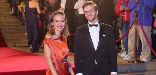 Tereza Voříšková s partnerem.