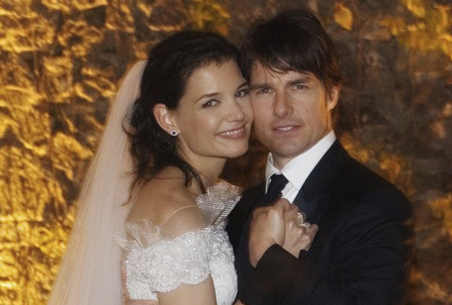 Katie Holmes a Tom Cruise.