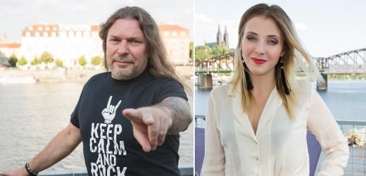 Anna Slováčková a Petr Kolář.