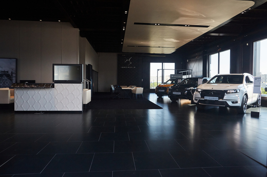 Nový Showroom DS.