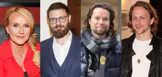 Vendula Pizingerová, Petr Svoboda, Richard Krajčo, Tomáš Klus.
