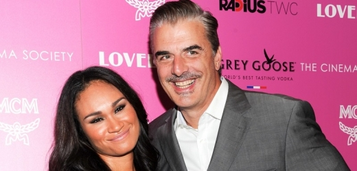 Chris Noth s manželkou Tarou.
