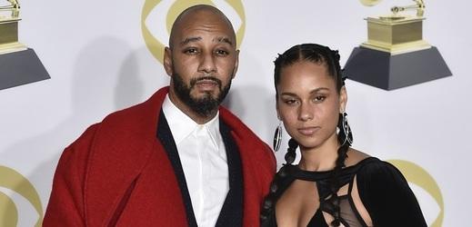Alicia Keys a její vrtošivý manžel Swizz Beatz.