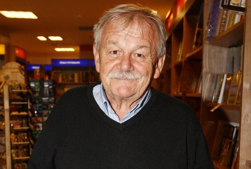 Karel Šíp a Miroslav Donutil u Haliny Pawlowské. Tentokrát