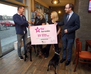 Televize Barrandov podporuje nejen psí útulky.