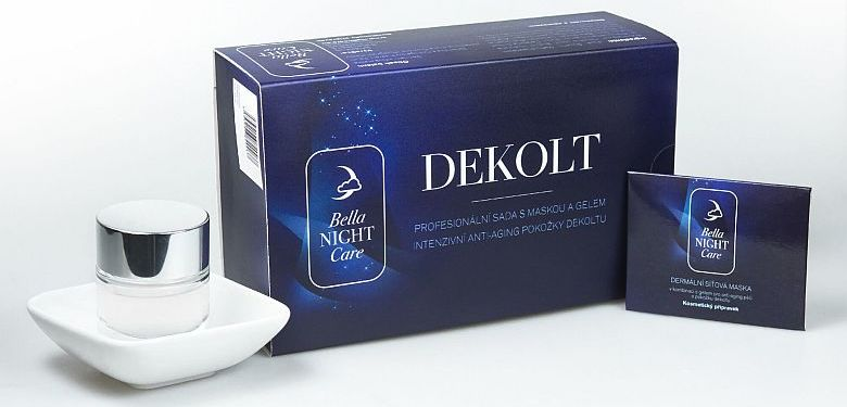 Dekoltová maska Bella Night Care.