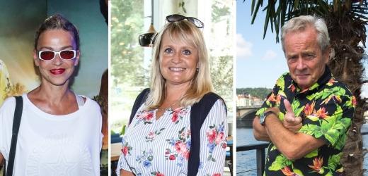 Regina Řandová, Alexander Hemala a Lucie Zedníčková.