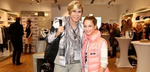 Kateřina Neumannová s dcerou Lucií v roce 2016.