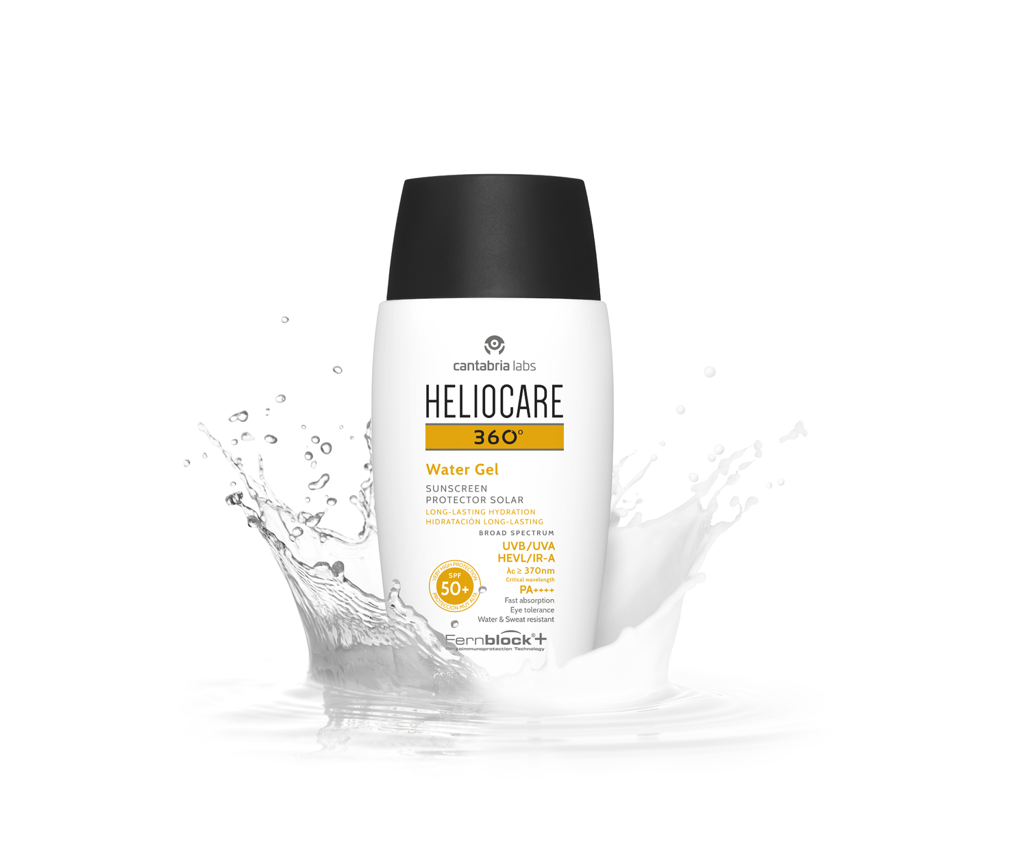 Heliocare 360° Water Gel SPF 50+.