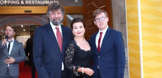 Dana Morávková, Petr Malásek, Petr Malásek junior.