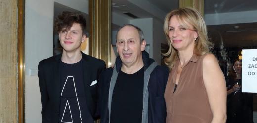 Jáchym Kraus, Jan Kraus a Ivana Chýlková.
