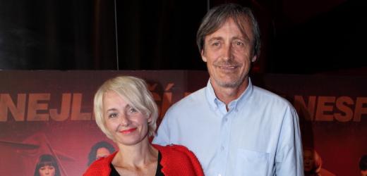 Veronika Stropnická s manželem Martinem.