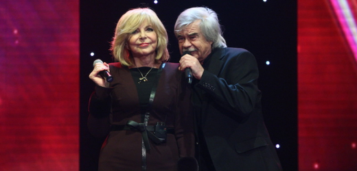 Hana Zagorová a Petr Rezek.