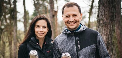Vojtěch Bernatský s manželkou.