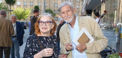 Jana Synková s manželem Janem Schmidem.